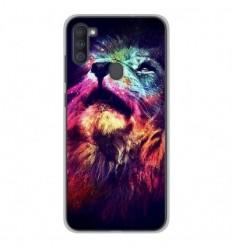 Coque en silicone Samsung Galaxy A11 - Lion swag