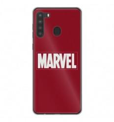 Coque en silicone Samsung Galaxy A21 - Marvel