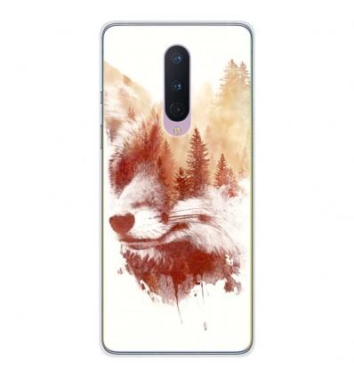 Coque en silicone OnePlus 8 - RF Blind Fox