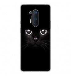 Coque en silicone OnePlus 8 Pro - Yeux de chat