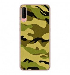 Coque en silicone Wiko View 4 - Camouflage