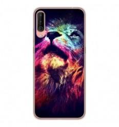 Coque en silicone Wiko View 4 - Lion swag