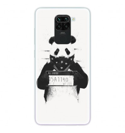 Coque en silicone pour Xiaomi Redmi Note 9 - BS Bad Panda