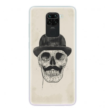 Coque en silicone pour Xiaomi Redmi Note 9 - BS Class skull