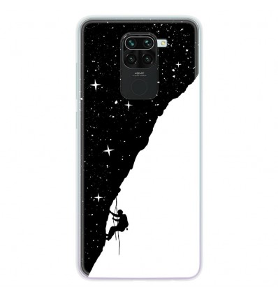 Coque en silicone Xiaomi Redmi Note 9 - BS Nightclimbing