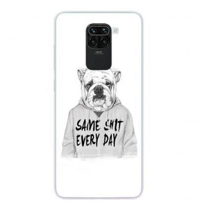 Coque en silicone pour Xiaomi Redmi Note 9 - BS Same shit