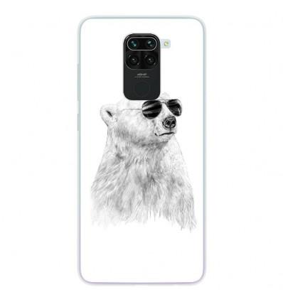 Coque en silicone pour Xiaomi Redmi Note 9 - BS Sunny bear