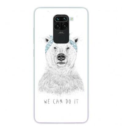 Coque en silicone pour Xiaomi Redmi Note 9 - BS We can do it