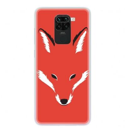 Coque en silicone Xiaomi Redmi Note 9 - RF Foxy Shape