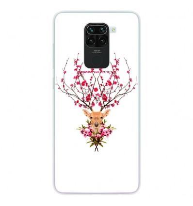 Coque en silicone Xiaomi Redmi Note 9 - RF Spring deer