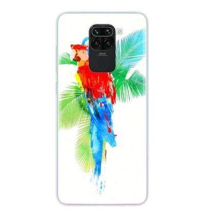 Coque en silicone pour Xiaomi Redmi Note 9 - RF Tropical party