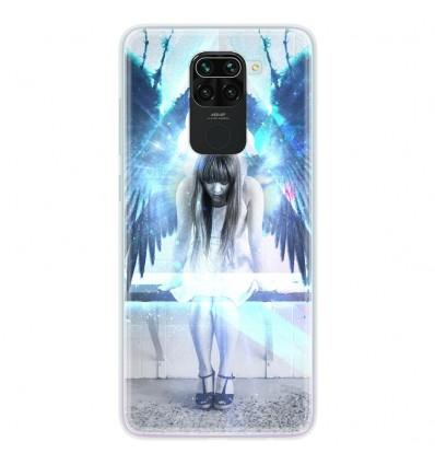 Coque en silicone pour Xiaomi Redmi Note 9 - Angel