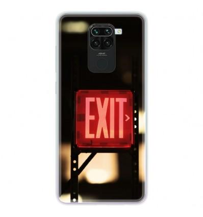 Coque en silicone Xiaomi Redmi Note 9 - Exit