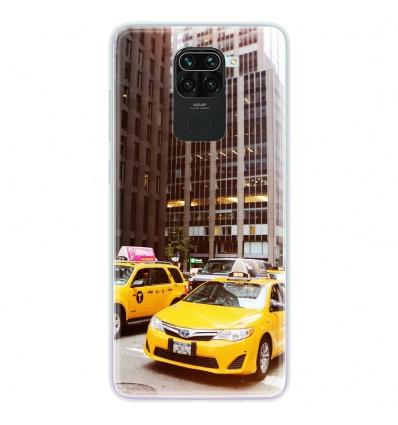 Coque en silicone pour Xiaomi Redmi Note 9 - NY Taxi