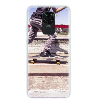 Coque en silicone pour Xiaomi Redmi Note 9 - Skate