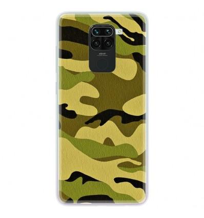 Coque en silicone pour Xiaomi Redmi Note 9 - Camouflage