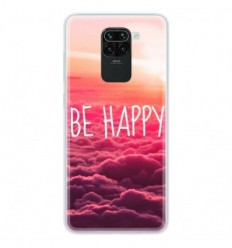 Coque en silicone Xiaomi Redmi Note 9 - Be Happy nuage