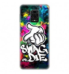 Coque en silicone Xiaomi Redmi Note 9 Pro - Swag or die