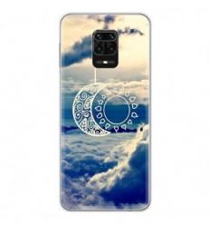 Coque en silicone Xiaomi Redmi Note 9 Pro - Lune soleil