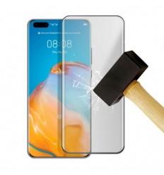 Film verre trempé 4D - Huawei P40 Pro Noir protection écran