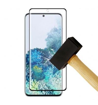 Film verre trempé 4D - Samsung Galaxy S20 Plus Noir protection écran