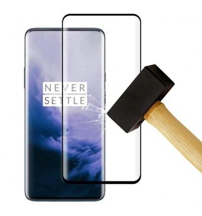 Film verre trempé 4D - Oneplus 7T pro Noir protection écran