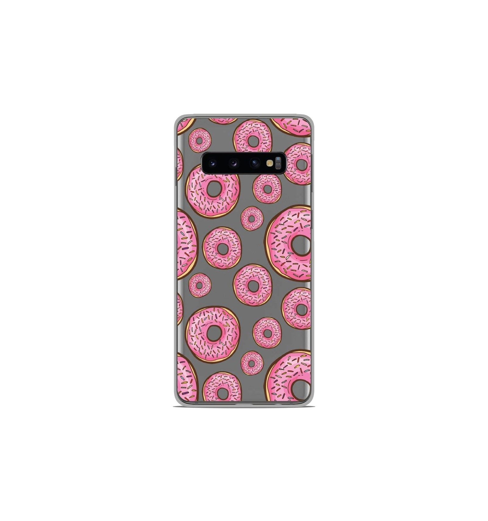 Coque en silicone Samsung Galaxy S10 Plus - Donuts