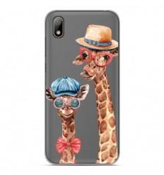 Coque en silicone Huawei Y5 2019 - Funny Girafe