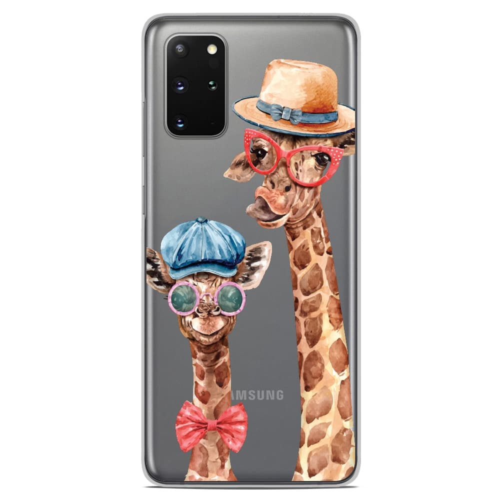 Coque en silicone Samsung Galaxy S20 Plus - Funny Girafe