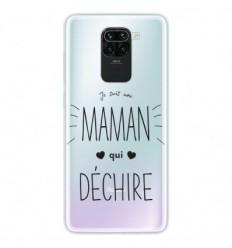 Coque en silicone Xiaomi Redmi Note 9 - Maman qui déchire