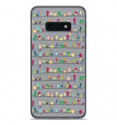 Coque en silicone Samsung Galaxy S10e - Oiseaux