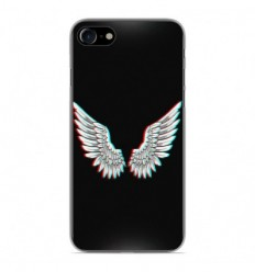 Coque en silicone Apple iPhone 7 - Ailes d'Ange