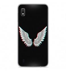Coque en silicone Samsung Galaxy A10 - Ailes d'Ange