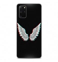 Coque en silicone Samsung Galaxy S20 Plus - Ailes d'Ange