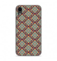 Coque en silicone Apple iPhone XR - Arabesque