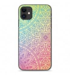 Coque en silicone Apple iPhone 11 - Mandala Pastel