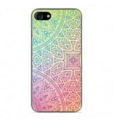Coque en silicone Apple iPhone 7 - Mandala Pastel