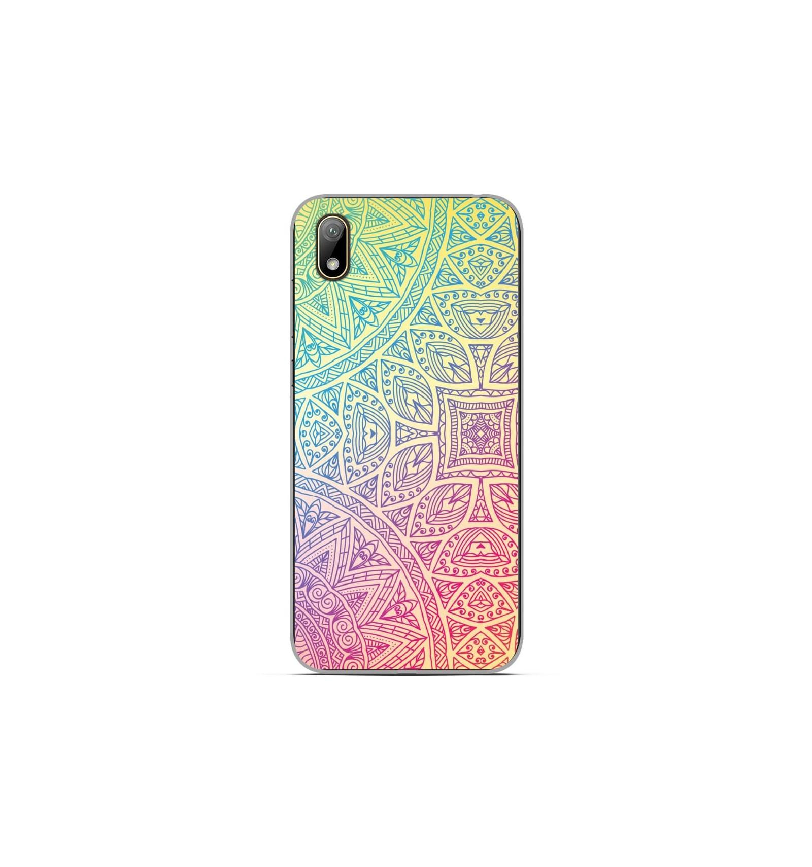 Coque en silicone Huawei Y5 2019 - Mandala Pastel