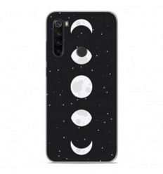 Coque en silicone Xiaomi Redmi Note 8T - Phase de Lune