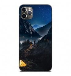 Coque en silicone Apple iPhone 11 Pro Max - Seul en Montagne