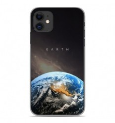 Coque en silicone Apple iPhone 11 - Earth