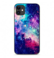 Coque en silicone Apple iPhone 11 - Galaxie Bleue