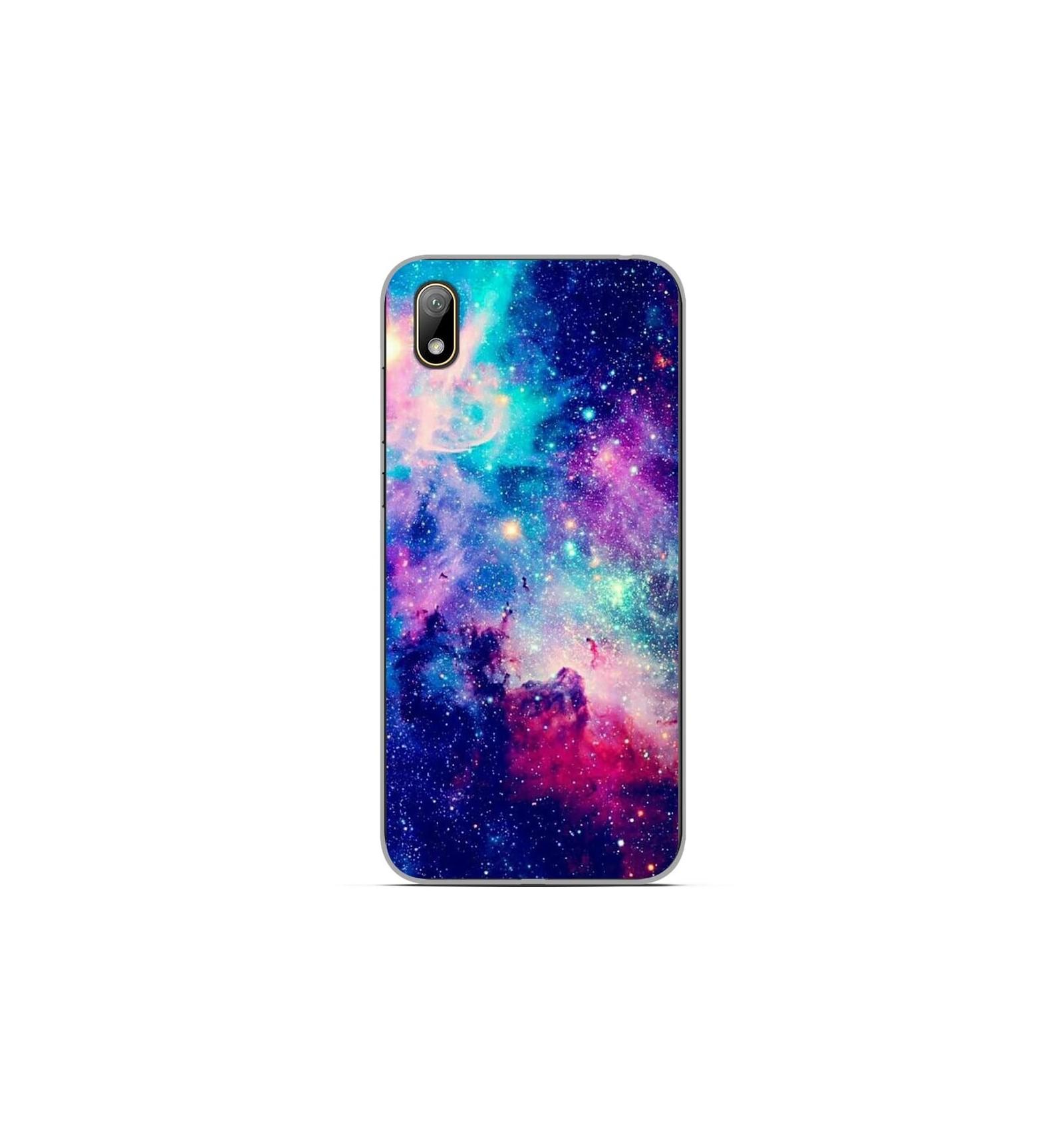 Coque en silicone Huawei Y5 2019 - Galaxie Bleue