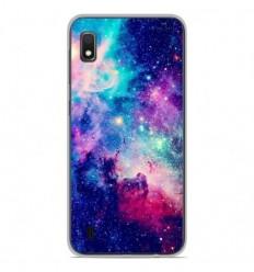 Coque en silicone Samsung Galaxy A10 - Galaxie Bleue