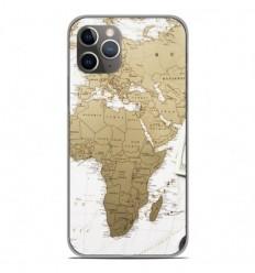 Coque en silicone Apple iPhone 11 Pro - Map Europe Afrique
