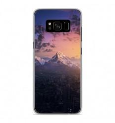 Coque en silicone Samsung Galaxy S8 - Montagnes urbaines