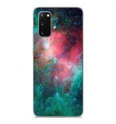 Coque en silicone Samsung Galaxy S20 - Nébuleuse