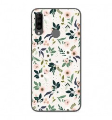 Coque en silicone Wiko View 3 - Flowers