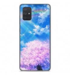 Coque en silicone Samsung Galaxy A71 - Hanami