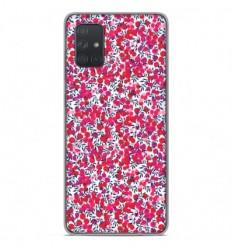 Coque en silicone Samsung Galaxy A51 - Liberty Wiltshire Rouge